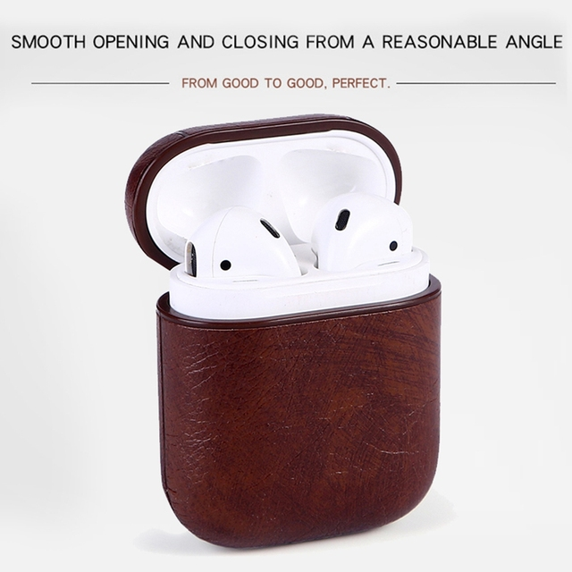 Genuine Leather Hook AirPod Case Cover 4