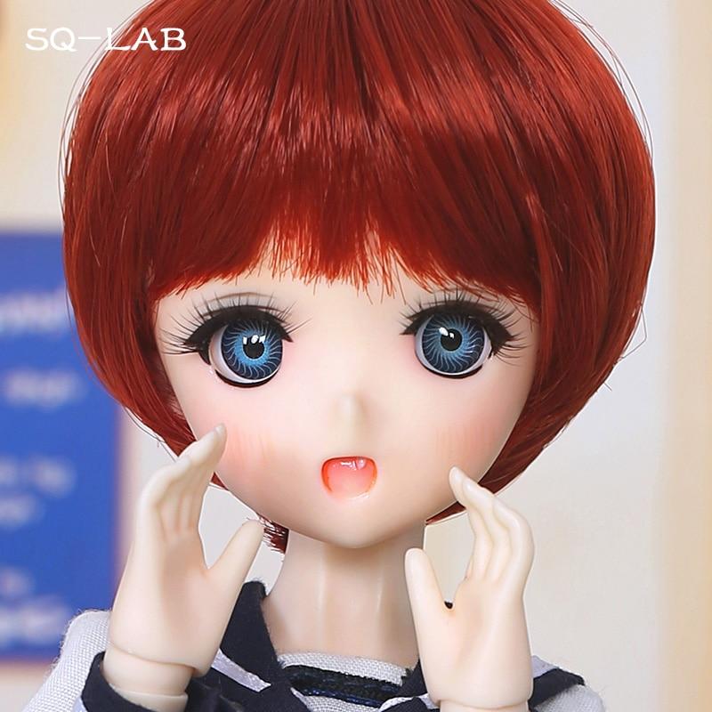 Куклы SQ Lab Chibi Moe BJD SD, 31 см, 1/6 Bluefairy, для девочек, 2D Lati YoSD Luts, суперкукла, магазин игрушек высокого качества, фигурки из смолы