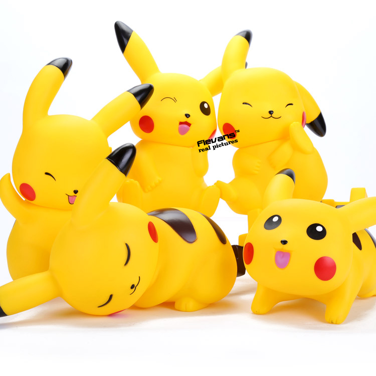 Anime Cartoon Monster Pikachu PVC font b Action b font font b Figures b font Collectible