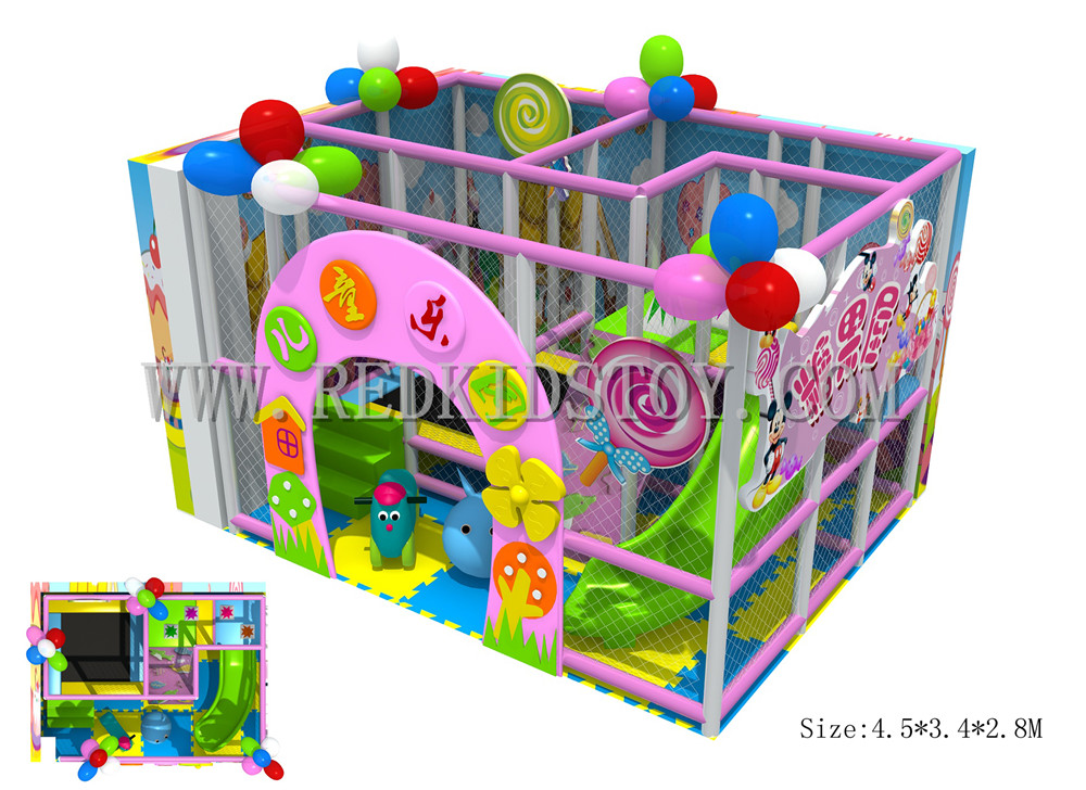 Exported To France Toddler Indoor Playground CE Approved Kids Play Center 150730-c