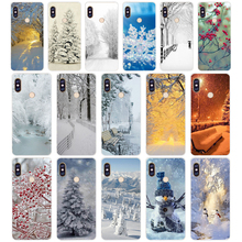 86G winter garden is beautiful Soft TPU Silicone Cover Case for