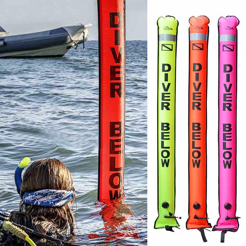 Nieuw Duiken Smb Kleurrijke Zichtbaarheid Veiligheid Opblaasbare Duiken Smb Oppervlak Signaal Marker BF88