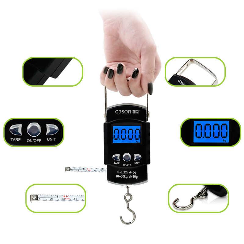 X1 balances à bagages numériques portables voyage électronique Mini outils de mesure suspendus gramme Balance de précision poche 50 kg/50g