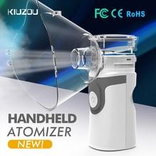 אולטרסאונד Nebulizer מיני כף יד משאף הנשמה אדים ערכת בריאות ילדי בית משאף מכונה מרסס