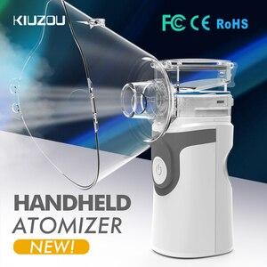 Image 1 - Portable Ultrasonic Nebulizer Mini Handheld Inhaler Respirator Humidifier Kit Health Care Children Home Inhaler Machine Atomizer