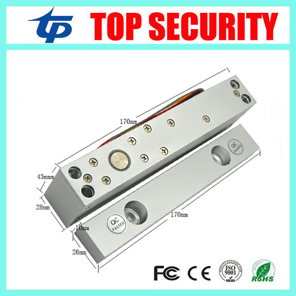 Good quality electric door lock 12V access control door lock with time delay 5 lines low temperature electric lock high quality ac90v 260v 5a access control power supply box for all kinds of electric door lock with time delay dyx5a