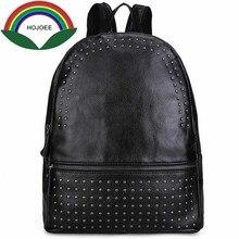 2017 г. женские рюкзак женская мода натуральная кожа рюкзак для девочек свободного покроя твердые большая сумка для ноутбука Роскошные мешок школы