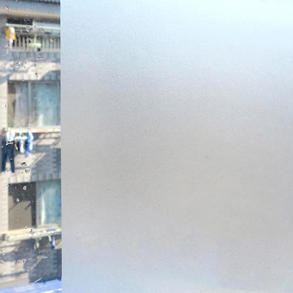 Privacy Window Film Static Cling No Glue Decorative Film Glass Door Sticker