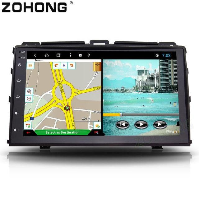 2din オクタコアの Android 車マルチメディア Dvd トヨタランドクルーザープラド 120 レクサス GX470 autoradio ナビゲーション GPS BT ラジオ