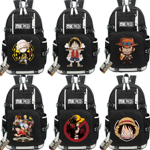 One Piece Character Printed Backbag