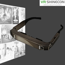 Super Smart Retina Glasses 3D VR Virtual Reality Headsets with 5.0MP Camera Support WiFi Bluetooth TF Card Video Recording