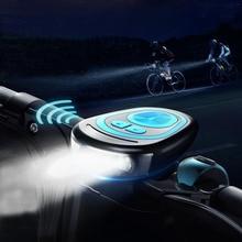 自転車ベル防水ベルラウドサイクリングホーン電気ホーン 120db usb 充電自転車ホーン自転車ライトヘッドライト屋外 mtb 自転車アクセサリー