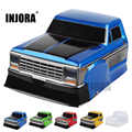 INJORA RC voiture demi pick-up tête corps coquille F150 pour 1/10 RC chenille axiale SCX10 90046 Traxxas TRX4 D90 Tamiya CC01 MST
