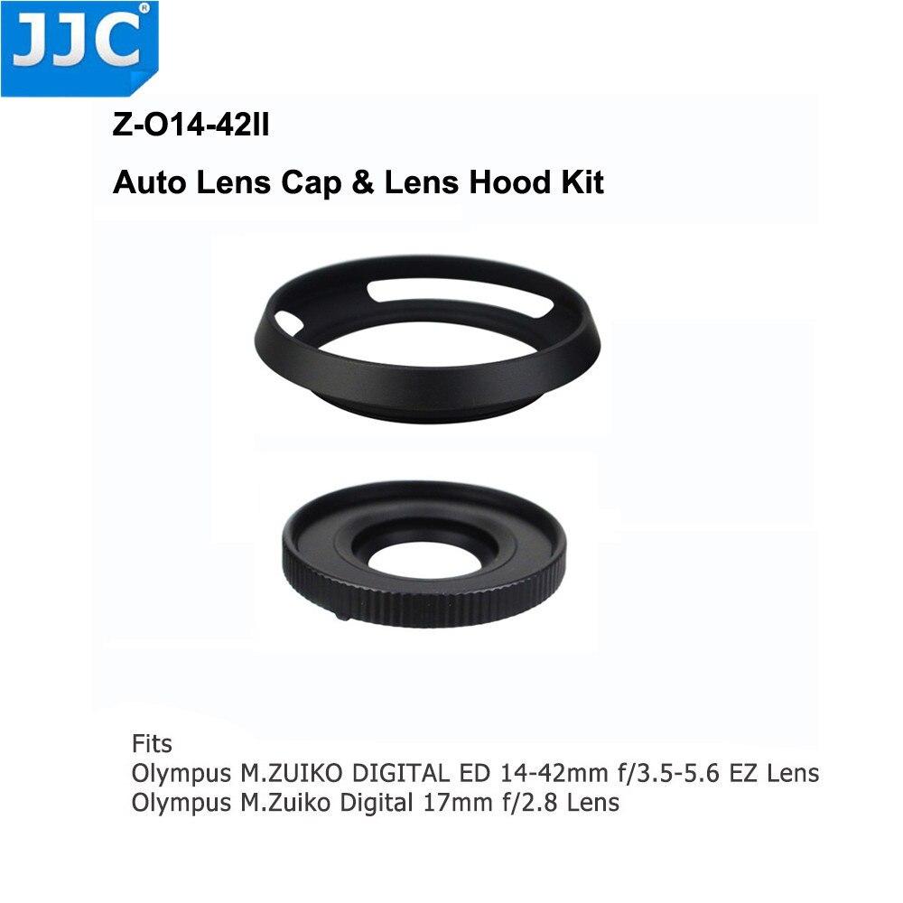JJC Auto Lens Cap for Olympus M.ZUIKO DIGITAL ED 14-42mm f/3.5-5.6 EZ  for Panasonic G Vario12-32mm f/3.5-5.6 ASPHJJC Auto Lens Cap for Olympus M.ZUIKO DIGITAL ED 14-42mm f/3.5-5.6 EZ  for Panasonic G Vario12-32mm f/3.5-5.6 ASPH