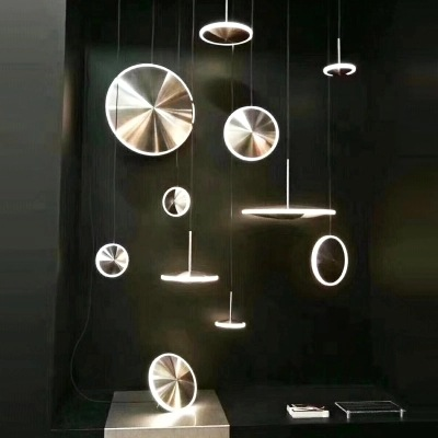 Nordic Simple Individual Light And Shadow Ufo Creative