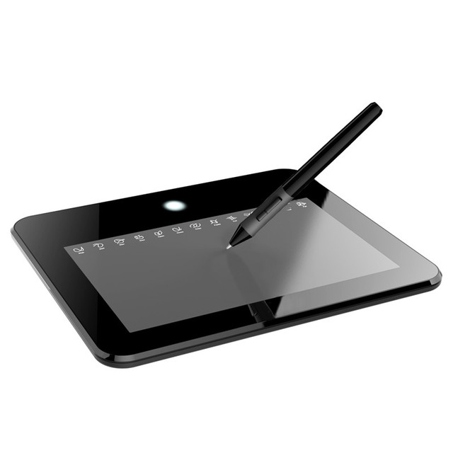 Ugee EX05 Tableta Digital de 8x5 ''Gráfico de Dibujo Tablet 4000LPI Digital Pad de Firmas Para Windows Mac OS