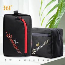 361 Mens Sport Swimming Handbag 5L Waterproof Storage Bag Unisex Dry Wet Separate For Gym Pool Beach Fitness Portable Bags