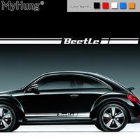 Für VW Käfer Für Volkswagen Beetle Auto Körper Aufkleber Anpassbare Motorsport Tür Auto Aufkleber Aufkleber Auto Styling 2 stücke pro Set-in Autoaufkleber aus Kraftfahrzeuge und Motorräder bei
