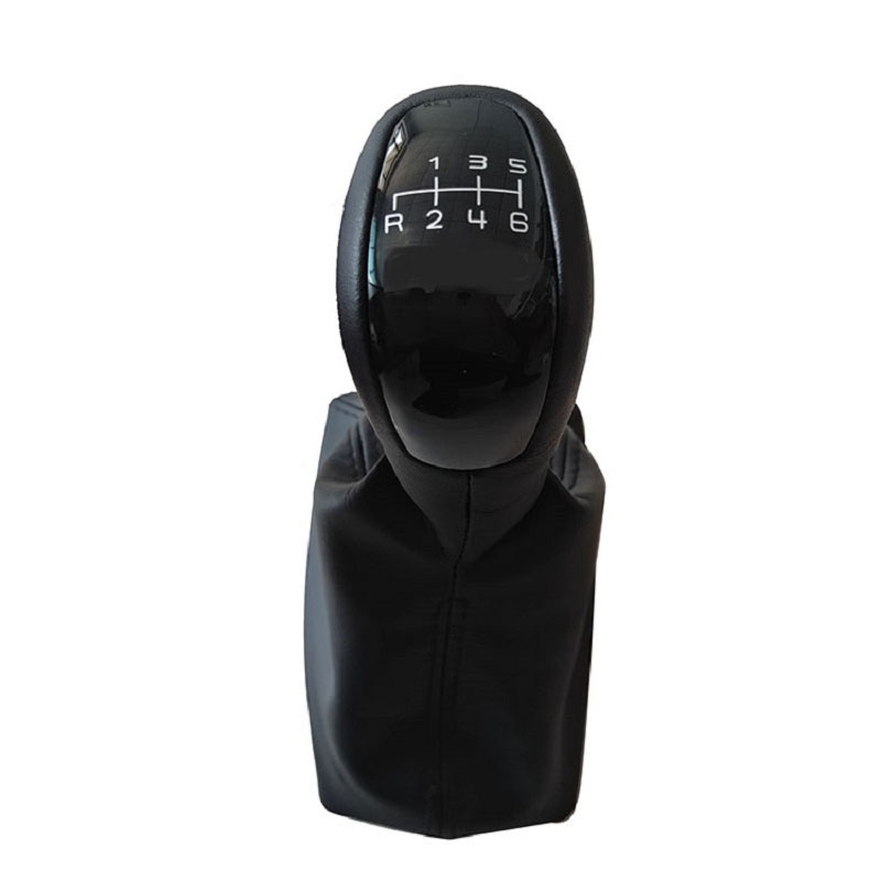 5 Speed 6 Gear Car Shift Gear Knob With Leather Boot For <font><b>Mercedes</b></font> Benz <font><b>E</b></font> Class W211 <font><b>S211</b></font> Elegance Classic Avantgarde image
