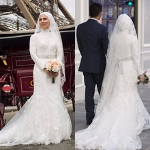 cecelle Long Sleeves Muslim Wedding Dresses Dresses With