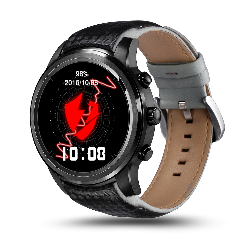 LEM5 Smart Watch Support WIFI SIM Card Bluetooth GPS Wristwatch For iPhone Android IOS Android Smartphones