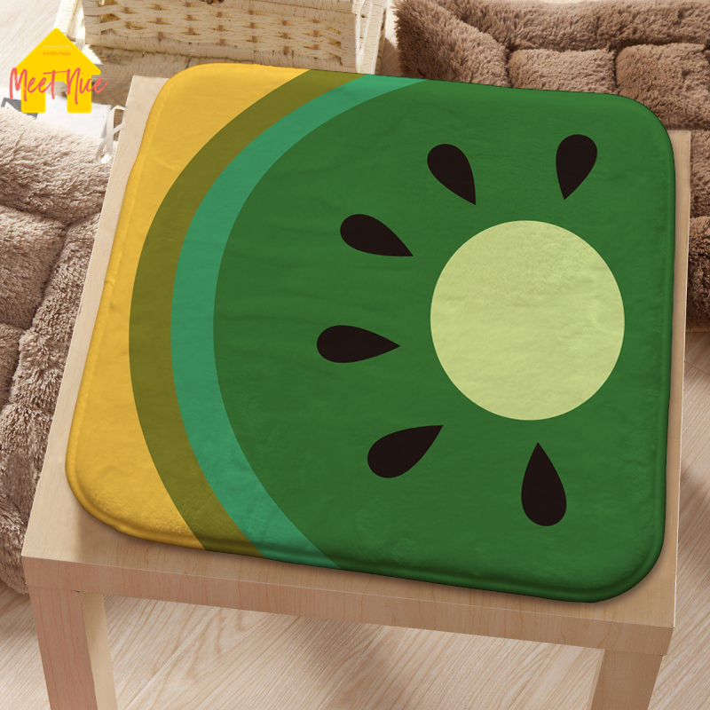 Meet Nice flannel Seat Pad Patio Solid 8 Colors Paiting Garden Square Indoor Dining On Office Chair Foam New Cushion 2018Hot