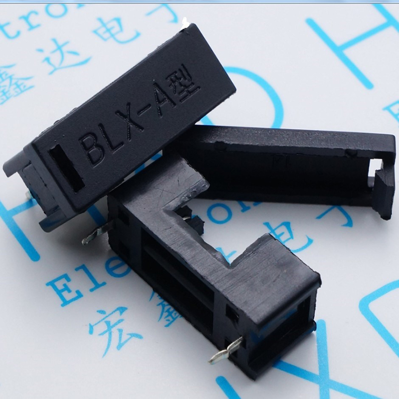 BLX - A type of insurance tube bridge fuse 5 * 20 black Pin pitch about 23 mm customer buying behavior of insurance policy