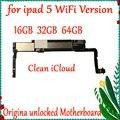 Оригинальная разблокированная материнская плата для ipad 5 Wifi версия материнская плата 16 ГБ 32 ГБ 64 ГБ с системой IOS