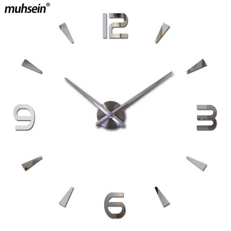 2019 جديد ساعة حائط ووتش Murale لا تزال الحياة ملصقات reloj دي باريد ساعة كوارتز المعيشة غرفة كبيرة الزخرفية الساعات الحديثة