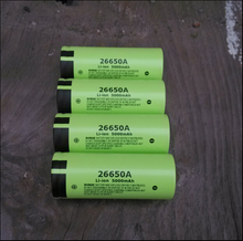 5pcs/lot New Genuine Panasonic 26650A 3.7V 5000mAh High Capacity 26650 Li-ion Battery Rechargeable Batteries Free Shipping