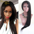 8A Grade Silky Straight Unprocessed Lace Front Wigs Glueless Full Lace Human Hair Wigs for Black Women Peruvian Front Lace Wigs