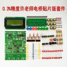 Kit de piezas de repuesto DIY XJW01, Puente digital 0.3%