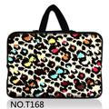 """Colorful Leopard 2015 New 10.1 """"12"""" 13.3 """"14"""" 15.6 """"17.3"""" laptop sleeve bag soft case notebook capa para sony acer asus hp"""