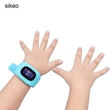 0e533e2d2e4 Sikeo Anti Perdido Relógio Rastreador Para Crianças SOS GPS Rastreador  Inteligente GSM Para Android Alarme GSM. 3 Cores Disponíveis