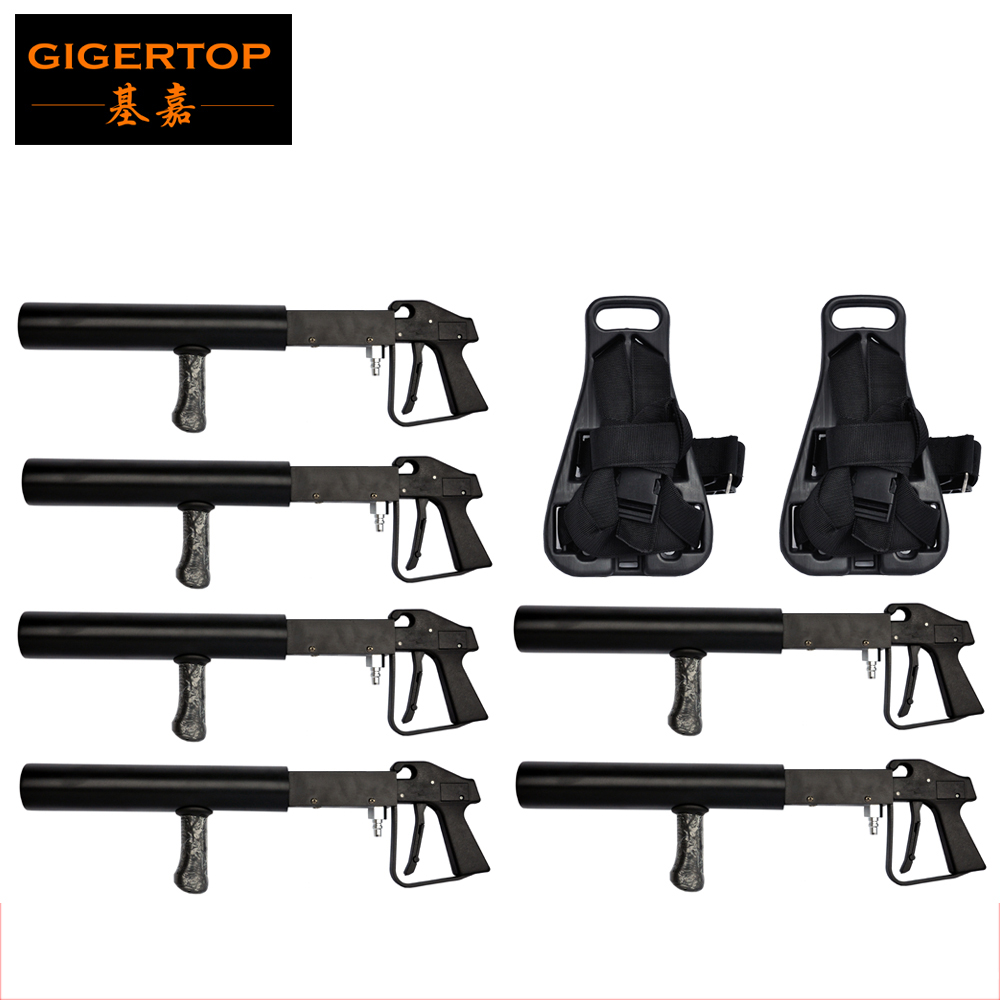 US $930 0 |Lowest Price CO2 Party Cannon Gun Jet Nightclub Frezzejet CO2  Gas Blaster with Tank Back Pack with Shoulders Straps Nylon Buckle-in Stage