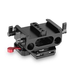 Image 2 - SmallRig płyta fundamentowa zestaw z 15mm zacisk kolejowy dla Blackmagic Design Pocket Cinema kamera BMPCC 4K(Manfrotto 501PL kompatybilny) 2266