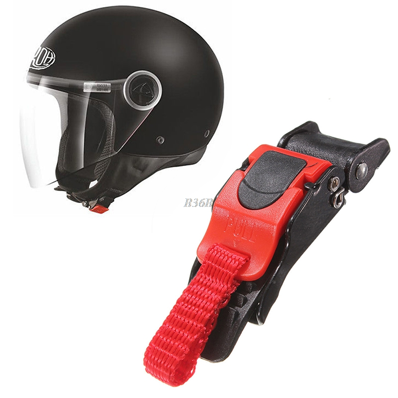 Motor Bike Helmet Chin Strap Speed Sewing Clip 9 Gear Quick Release Buckle New may2 circle