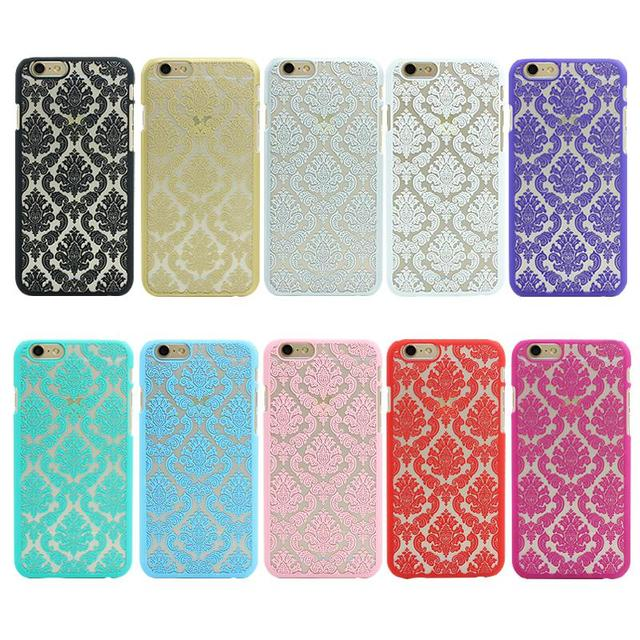 Etui wzór kwiatów w stylu vintage dla iPhone 7 5 5S SE 4 4S 6 6 s 7 Plus