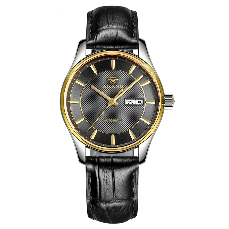 New Luxury Mens Automatic Mechanical Watch Men Fashion Casual Business Watches Leather Male Clock Wristwatches Relogio Masculino forsining fashion brand men simple casual automatic mechanical watches mens leather band creative wristwatches relogio masculino