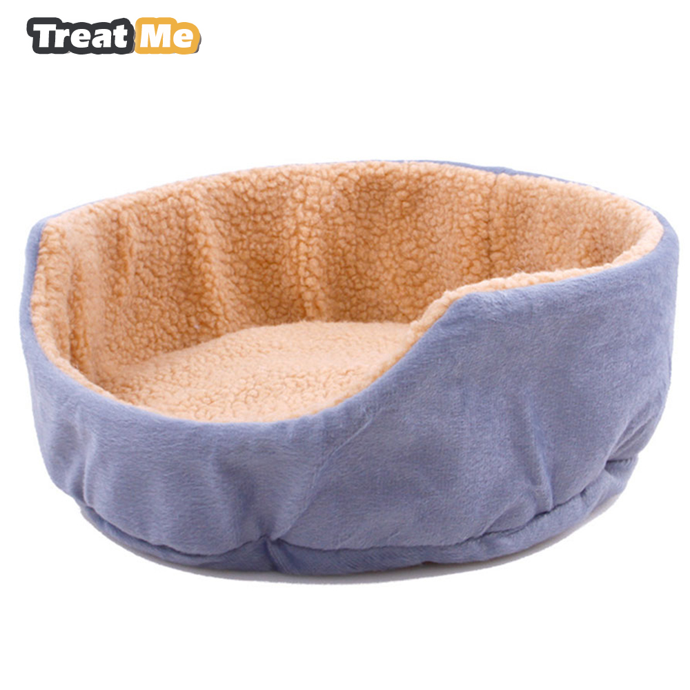 Dog Beds For Small Dogs Soft Short Plush Kennel Pet Dog House All Seasons Fortable Pet Bed For Small Dogs And Cat 4 Colors