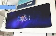 Avicii геймерский коврик для мыши высокого качества 800x300x3 мм игровой коврик для мыши HD блокнот с рисунком аксессуары для ПК ноутбук padmouse эргономичный коврик