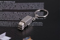 Lorry Truck Shape Keychain Metal Key Chain Promotional Gifts Wholesale FREE SHIPPING 5450