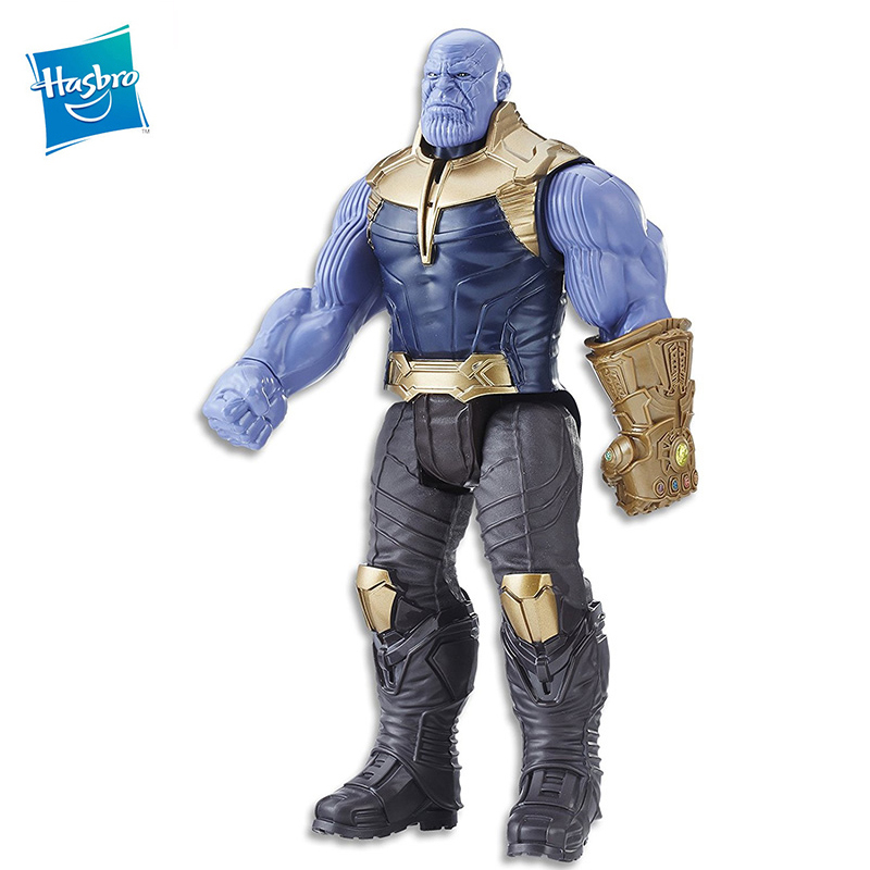 2018 29cm Marvel Toys the Avengers 3 INFINITY WAR Thanos PVC Action Figures TITAN HERO SERIES Collectible Model Toy Kid E0572