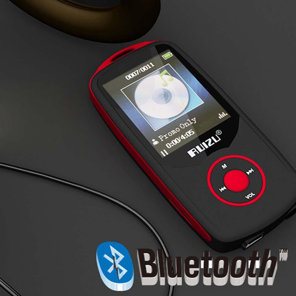 1 8 TFT Bluetooth MP3 Player Support TF Card 4G Storage 100 Hours Built in FM
