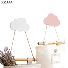 Hooks Storage-Racks Wall-Hanger Room-Decoration Wooden Nordic-Style Kids Cute XZJJA Car/stars