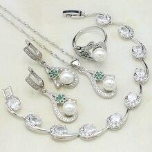 44a5a142aacf Compra green pearl ring y disfruta del envío gratuito en AliExpress.com