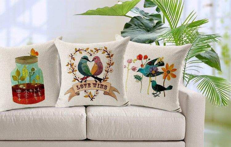 Bellos cojines pintados en tela pintura en tela a mano - Cojines pintados en tela ...