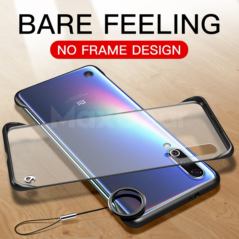 Frameless-Case Funda Bumper Coque Silicone-Case Transparent Redmi Xiaomi Mi K20-Pro Mi Cc9