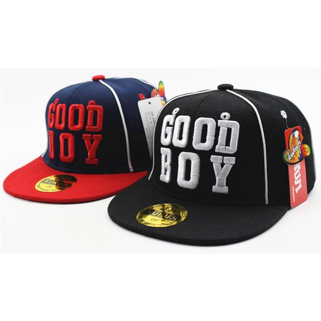 2019 Nouvelle Mode Broderie BON GARÇON Casquettes de Baseball Enfants Rue De Danse Casquette de Baseball Garçons Et Filles En Plein Air Enfants Hip Hop chapeau
