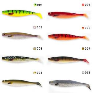 Image 4 - HUNTHOUSE big soft fishing lure teeze pro shad lure 120 150 180mm berserk sea fishing  bass decoy for fishing pike zander